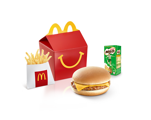 Happy Meal Burger Heo